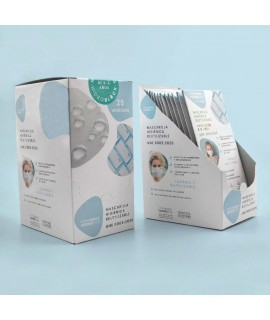 caja mascarillas sostenibles